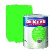 Peinture mur & plafond De Keyn satin 523 vert 2,5 L