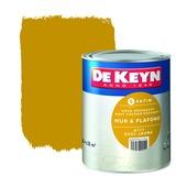 Peinture mur & plafond De Keyn satin 777 jaune 2,5 L