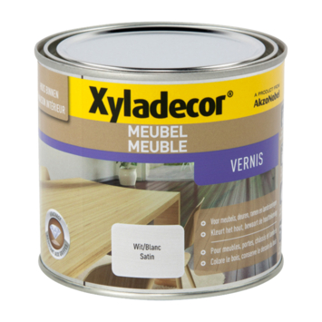 Xyladecor meubelvernis zijdeglans wit 500 ml
