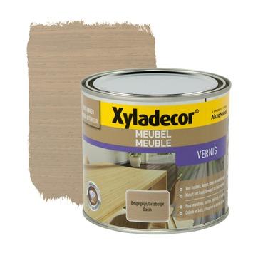 Xyladecor meubelvernis zijdeglans beige grijs 500 ml