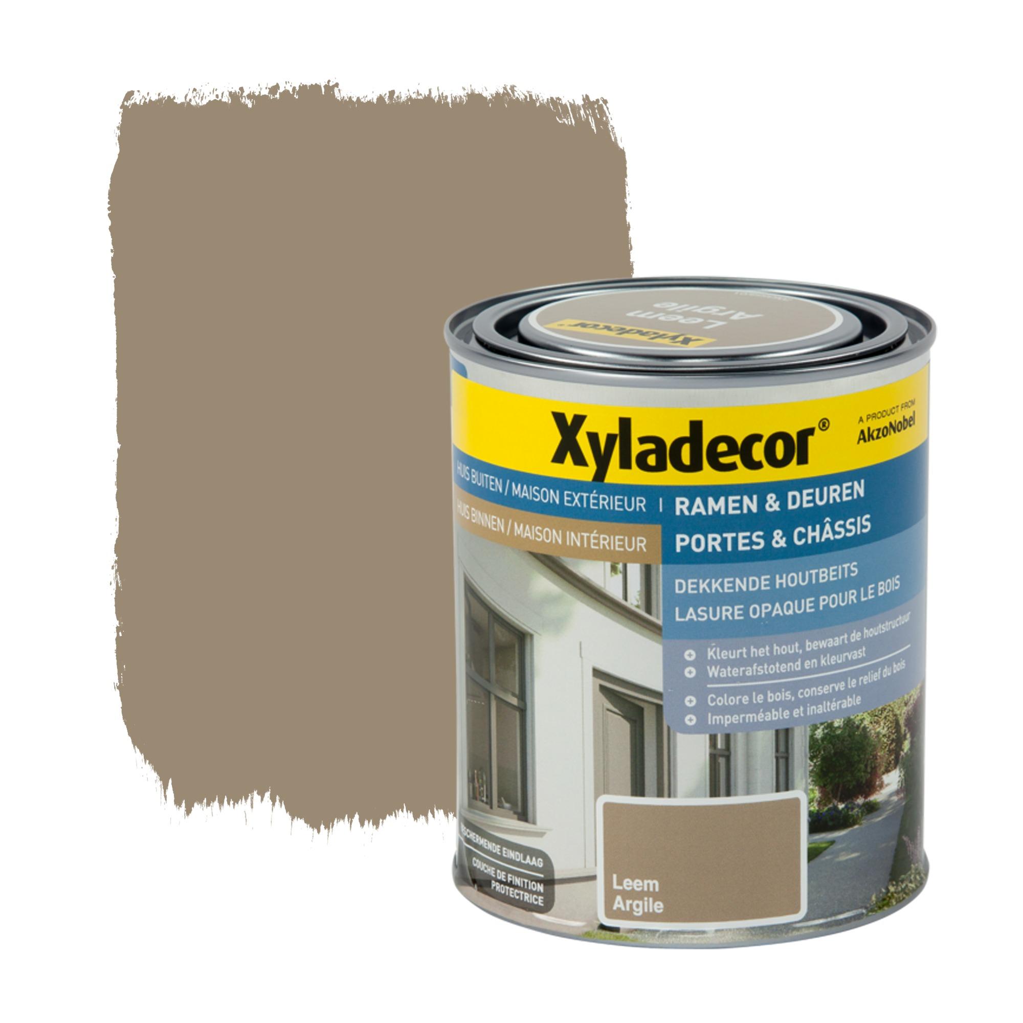 Lasure opaque portes ch ssis xyladecor argile 750 ml - Papier pour peinture huile ...