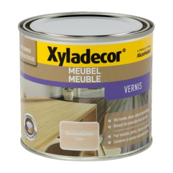 Xyladecor meubelvernis zijdeglans anthraciet 500 ml