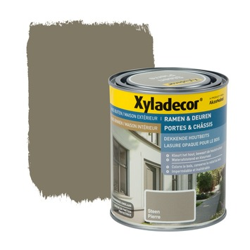 Lasure opaque portes & châssis Xyladecor pierre 750 ml