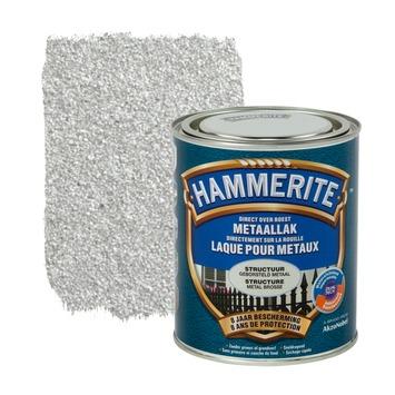 Hammerite metaallak structuur mat geborsteld metaal 750 ml