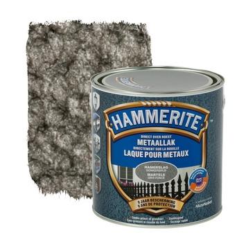 Hammerite metaallak hamerslag donkergrijs 2,5 L