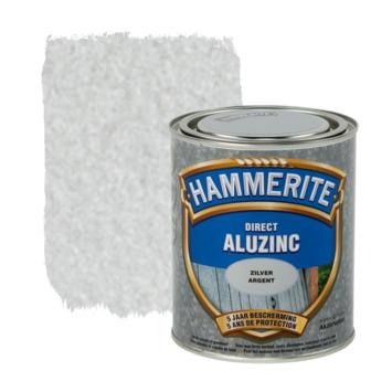 Laque pour métaux Hammerite brillant aluzinc argent 750 ml ...