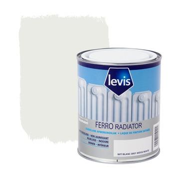 Levis Ferro radiator afwerkingslak zijdeglans wit 750 ml