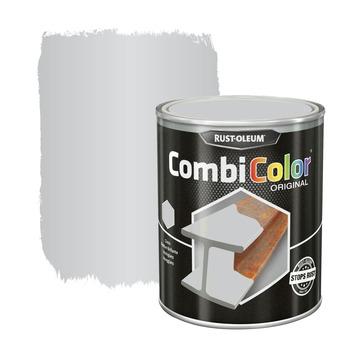 Rust-Oleum CombiColor metaalverf hoogglans RAL9006 wit aluminium 250 ml