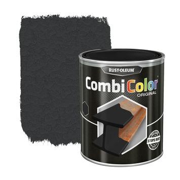 Rust-Oleum CombiColor metaalverf hamerslag zwart 250 ml