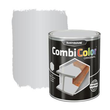 Rust-Oleum CombiColor metaalverf hoogglans wit aluminium 750 ml