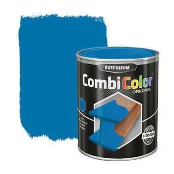 Rust-Oleum CombiColor metaalverf hoogglans RAL5012 lichtblauw 750 ml