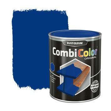 Rust-Oleum CombiColor metaalverf hoogglans RAL5010 gentiaanblauw 750 ml