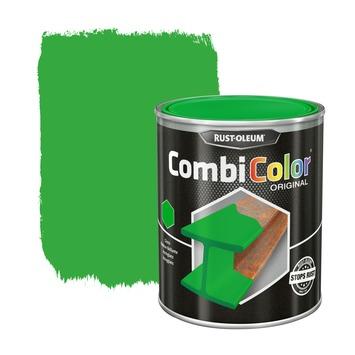 Rust-Oleum CombiColor metaalverf hoogglans RAL6018 geelgroen 750 ml