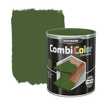 Rust-Oleum CombiColor metaalverf hoogglans RAL6011 reseda groen 750 ml