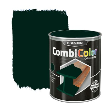 Rust-Oleum CombiColor metaalverf hoogglans  RAL6009 dennengroen 750 ml