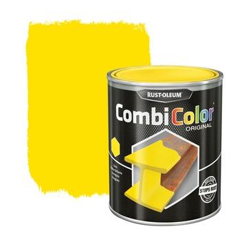 Rust-Oleum CombiColor metaalverf hoogglans RAL1018  lichtgeel 750 ml