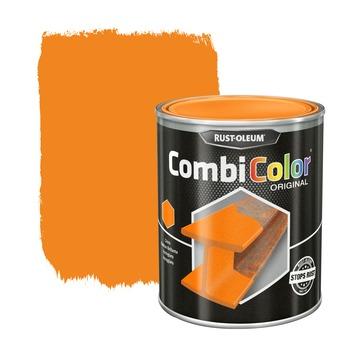 Rust-Oleum CombiColor metaalverf hoogglans RAL2000 oranje 750 ml