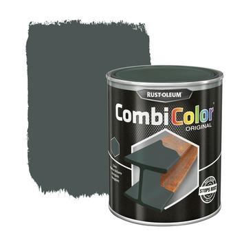 Rust-Oleum CombiColor metaalverf hoogglans RAL7005 Lichtgrijs 750 ml