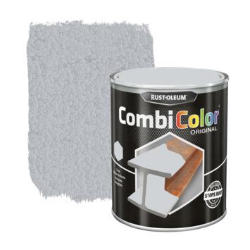 Rust-Oleum CombiColor metaalverf hamerslag lichtgrijs 750 ml