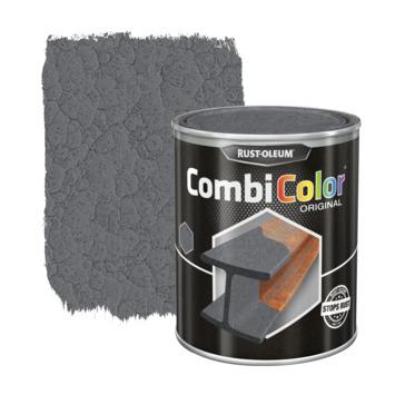 Rust-Oleum CombiColor metaalverf hamerslag donkergrijs 750 ml