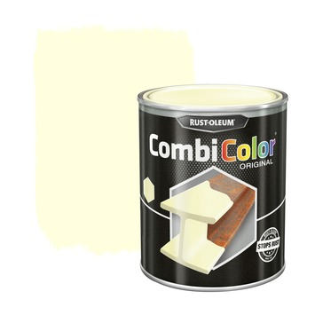 Rust-Oleum CombiColor metaalverf mat wit 750 ml
