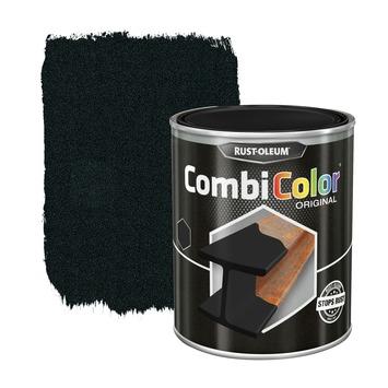 Rust-Oleum CombiColor metaalverf hoogglans smeedijzer zwart 750 ml