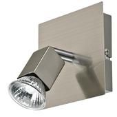 GAMMA Messina spot GU10 35W exclusief lamp aluminium