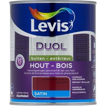 Levis Duol 2 in 1 zijdeglans wijnrood 750 ml