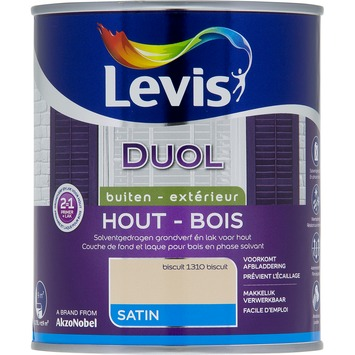 Levis Duol 2 in 1 zijdeglans biscuit 750 ml