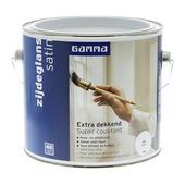 GAMMA Extra Dekkend lak zijdeglans wit 2,5 L