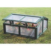 Keter mini-serre Coldframe Planteo vert 96x100x48 cm