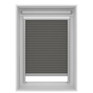 Store plissé pour fenêtre de toit GAMMA 7101 gris 134x140 cm ...
