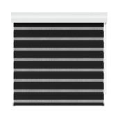 GAMMA roljaloezie 4304 zwart 90x250 cm