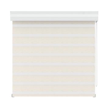 Store ajouré GAMMA 4328 lin blanc 180x160 cm