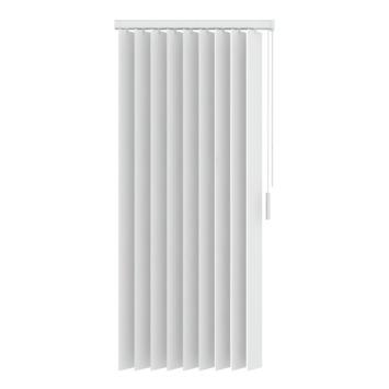 GAMMA verticale lamelset kunststof 89 mm 5084 wit 90x180 cm