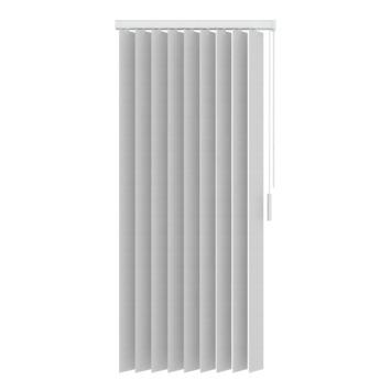 GAMMA verticale lamelset kunststof 89 mm5700 wit 200x180 cm