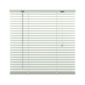 Store vénitien en aluminium 25 mm GAMMA 201 blanc 200x250 cm