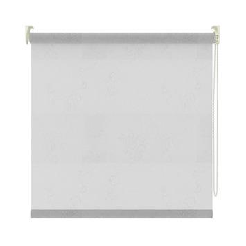 Store enrouleur tamisant GAMMA motif 2411 blanc transparent 60x190 ...