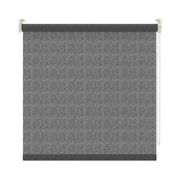 GAMMA rolgordijn lichtdoorlatend 3577 transparant zwart 60x190 cm