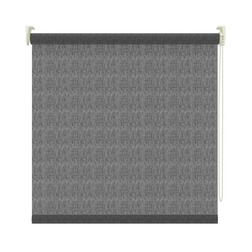 GAMMA rolgordijn lichtdoorlatend 3577 transparant zwart 90x190 cm