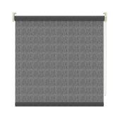 GAMMA rolgordijn lichtdoorlatend 3577 transparant zwart 210x190 cm