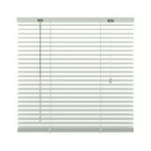 Store vénitien GAMMA 201 aluminium 25 mm blanc 120x250 cm