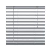 Store vénitien GAMMA 221 aluminium 25 mm argenté 100x250 cm