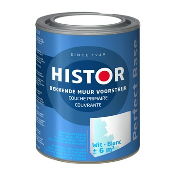Histor Perfect Base voorstrijk (Primer) dekkend wit 1 liter