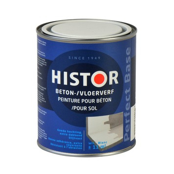 Histor Perfect Base betonverf wit 750 ml