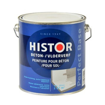 Histor Perfect Base betonverf wit 2,5 liter