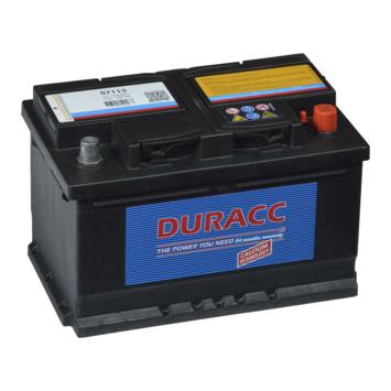 Batterie de voiture 12 V 41 Ah Duracc 57113