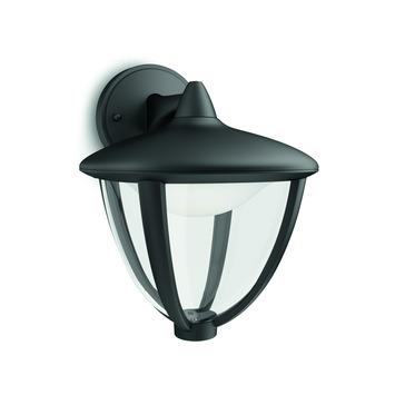Applique extérieure Robin down Philips LED intégrée 4,5W 430 lumens noir