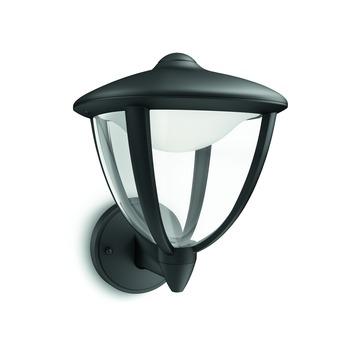 Applique extérieure Robin up Philips LED intégrée 4,5W 430 lumens noir