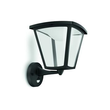 Applique extérieure Cottage Philips LED intégrée 4,5W 430 lumens noir